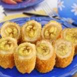 Бананови руладини с пиле
