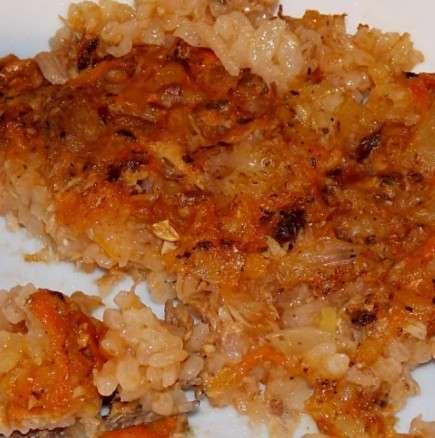 Ориз на фурна с риба тон