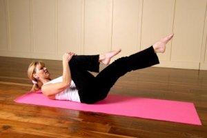 Пилатес упражнения от вкъщи