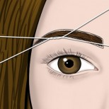 Как да оформим веждите си сами с конец (Ръководство стъпка по стъпка)