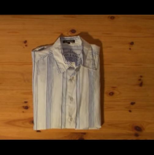 Как се сгъва риза за 10 секунди