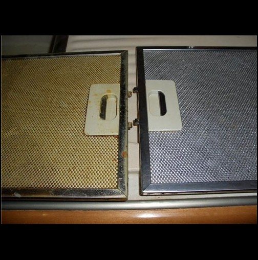 Ето как най- лесно да почистите филтърът на аспиратора без препарати от мръсотията и мазнината
