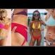 Ето го тоталния хит това лято: Смело облечете горнище и долнище от различни бански и ще сте върха на плажа! Звездите също го правят!