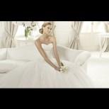Как да изберете сватбена рокля според фигурата (Галерия)
