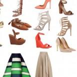 Какви обувки да обуете според дължината на полата, с която сте, за да не ви изглеждат къси краката