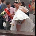 Сватбените снимки, които искат да забравят завинаги техните притежатели. Излагация голяма (Снимки)