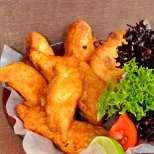 Рибни филенца в бирено тесто