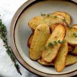 Кисели печени картофки
