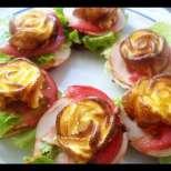 Ефектни парти-сандвичи с омлет