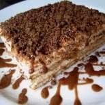 Бърза и лесна капучино торта