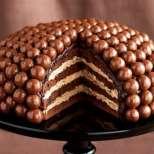 Неприлично вкусна шоколадова торта