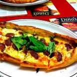 Пиде - турска пица със сирене