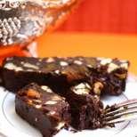 Без печене - студена шоколадова торта с бисквити