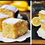 Лимонов сладкиш с кокос