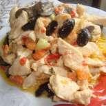 Сочни пилешки хапки с маслини