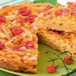 Торта с макарони