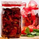 Сушени домати в зехтин