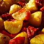 Бързи картофки на фурна