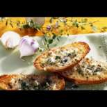 Лесно и вкусно чесново хлебче