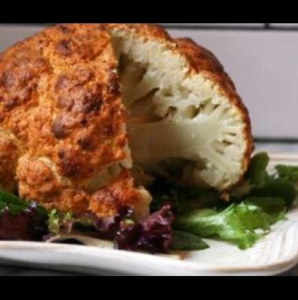 Диетично и вкусно - печен карфиол