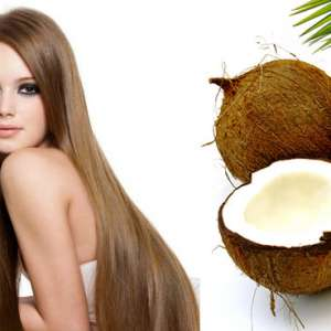 Маски за укрепване на косата с кокосово масло