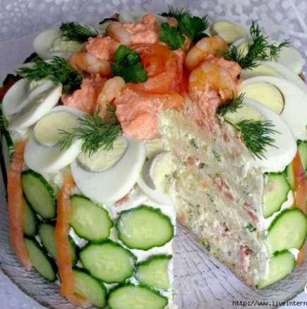 Скандинавска торта-закуска