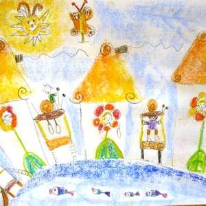 Какви послания издават рисунките на малките деца