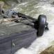 Лека кола с двама души падна в река Бистрица