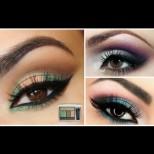 Какъв цвят сенки  ще ви отива според цвета на очите ви? (Снимки)