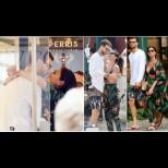Нажежиха страстите до бяло: Никол Шерцингер не отлепи устни от Гришо на романтичната им ваканция (Снимки)