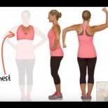 Лесни упражнения за стягане и повдигане на гърдите