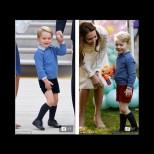 Чудите ли се защо Кейт винаги обува малкия принц Джордж в къси панталонки дори когато е студено? Ето и отговора