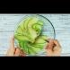 Нарязвам на ленти, заливам с маринатката и после - ммм, вижте само какво мезенце става: (Видео)