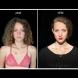 Само 12 часа разлика,а  колко много ни се променят лицата през деня. Тези снимки ще ви го докажат
