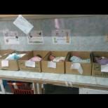 Полицията откри новородени бебета в кутии