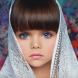 Това не е кукла, а малката Анастасия-Новото най-красиво момиче в света