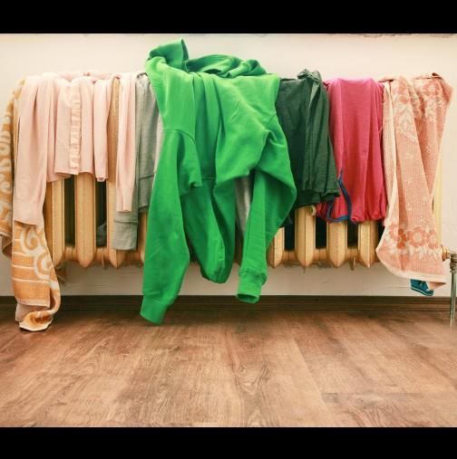 Вижте защо не трябва да сушите дрехи на радиатора!
