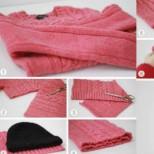 Имате стар и грозен пуловер, а искате нещо хубаво и стилно за носене. 15 идеи как да го преобразите (снимки)