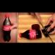 Чак аз се хванах на този номер на детския рожден ден! Върхът беше, когато разряза бутилката Кока-Кола: (Видео)