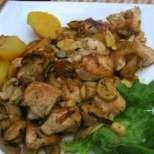 Лесно и бързо - сочни пилешки хапки