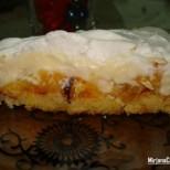 Домашна торта с праскови