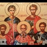На 13 декември: Свети мчци Евстратий, Авксентий, Евгений, Мардарий и Орест