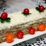 Солена торта от настъргани тиквички и заквасена сметана - неустоимо вкусно и без капка мазнина