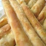 Бързи солени пурички със сирене и готови кори