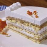 Видео рецепта: Лятна карамелена бисквитена торта Шехерезада