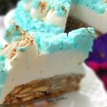 Лесна бисквитена торта Снежната кралица
