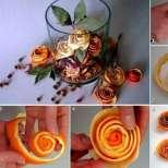 Как да си направим портокалови розички-Видео