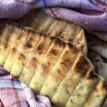 Жарено хлебче на скара