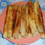 Лесни пурички със сирене от кори за баница