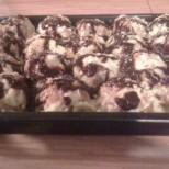 Домашна еклерова торта с мини-еклерчета - опитайте!